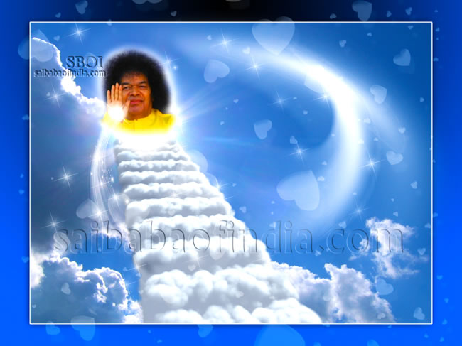 "sri sathya sai baba - ""Heavenly Blessings"""