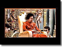 SRI SATHYA SAI-BABA DIGITAL ART PAINTING - HQ , LARGE SIZE 1920 x1080