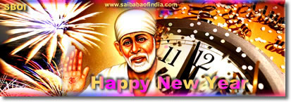 Shirdi Sai Baba themed  New Year 2011