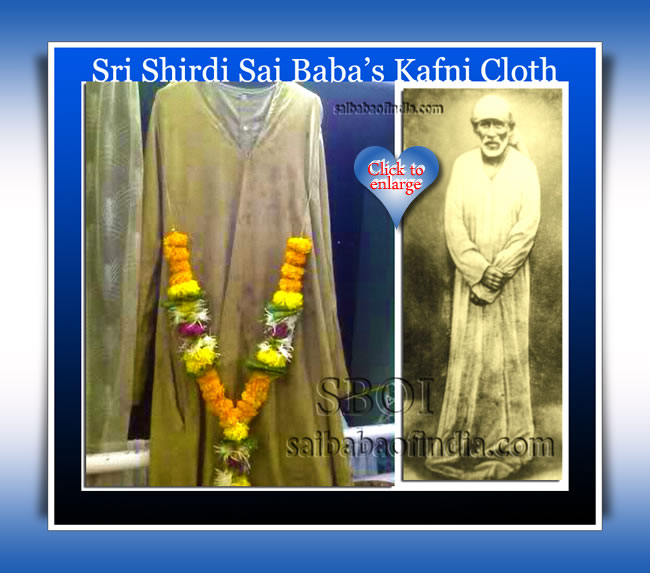 Sri Shirdi Sai Baba's Kafni cloth