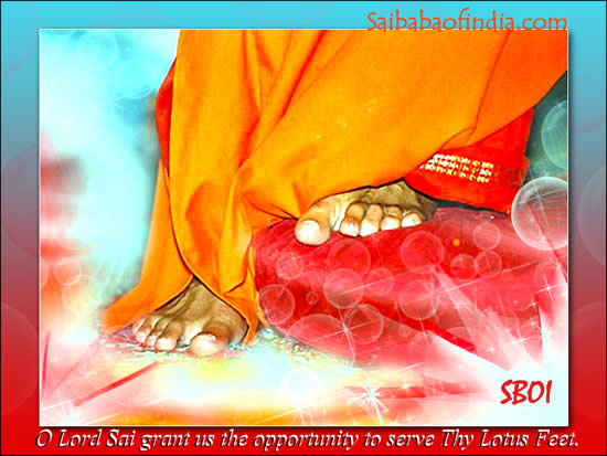 sboi-lotus-feet-beautiful ...SRI SATHYA SAI BABA FEET RESTING ON A RED PILLOW