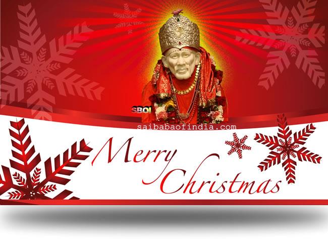 Shirdi sai baba christmas greeting cards and wallpapers m4hsunfo