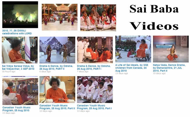 Latest Darshan Videos and Programs in Prasanthi Nilayam