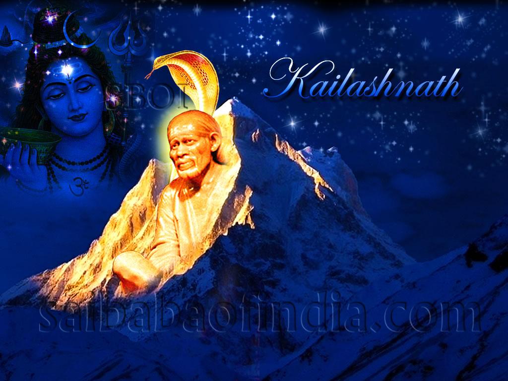 Sai Darbar Wallpaper Shiva Sai Kailashnath 2 Size