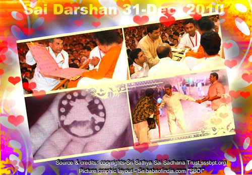 Fri, Dec 31, 2010: Sai News & Photo Updates - Sai Darshan today: