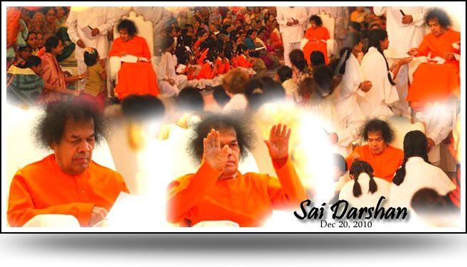 Mon, Dec 20, 2010: Sai News & Photo Updates - Sai Darshan today