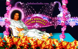 HAPPY BIRTHDAY SAI RAM - SRI SATHYA SAI BABA