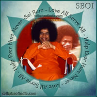 sri sathya sai baba Love All Serve All