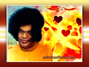 Sri-sathya-sai-baba-wind-caressing-his-hair