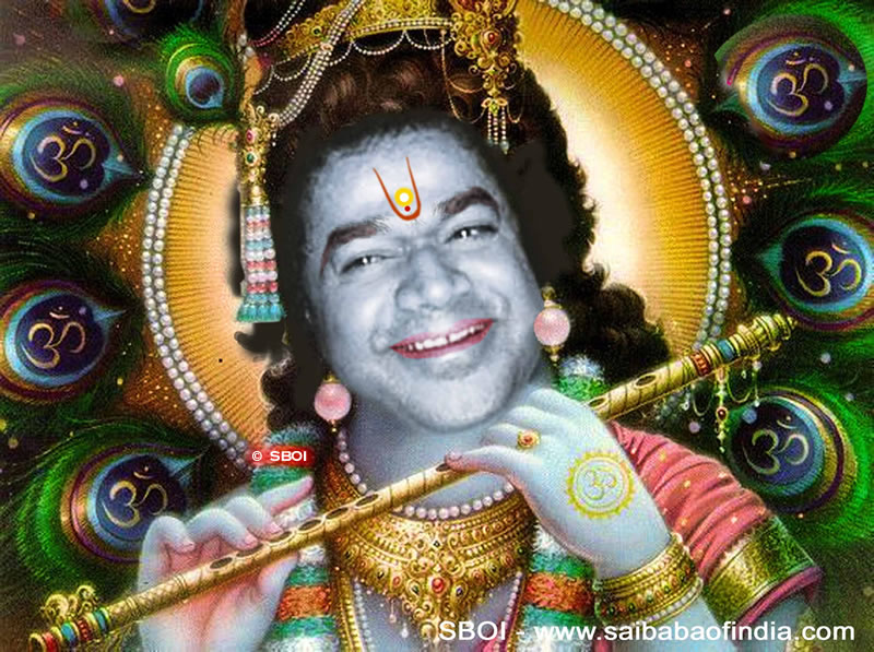 "Sai Baba wallpapers - ""sai krishna"""