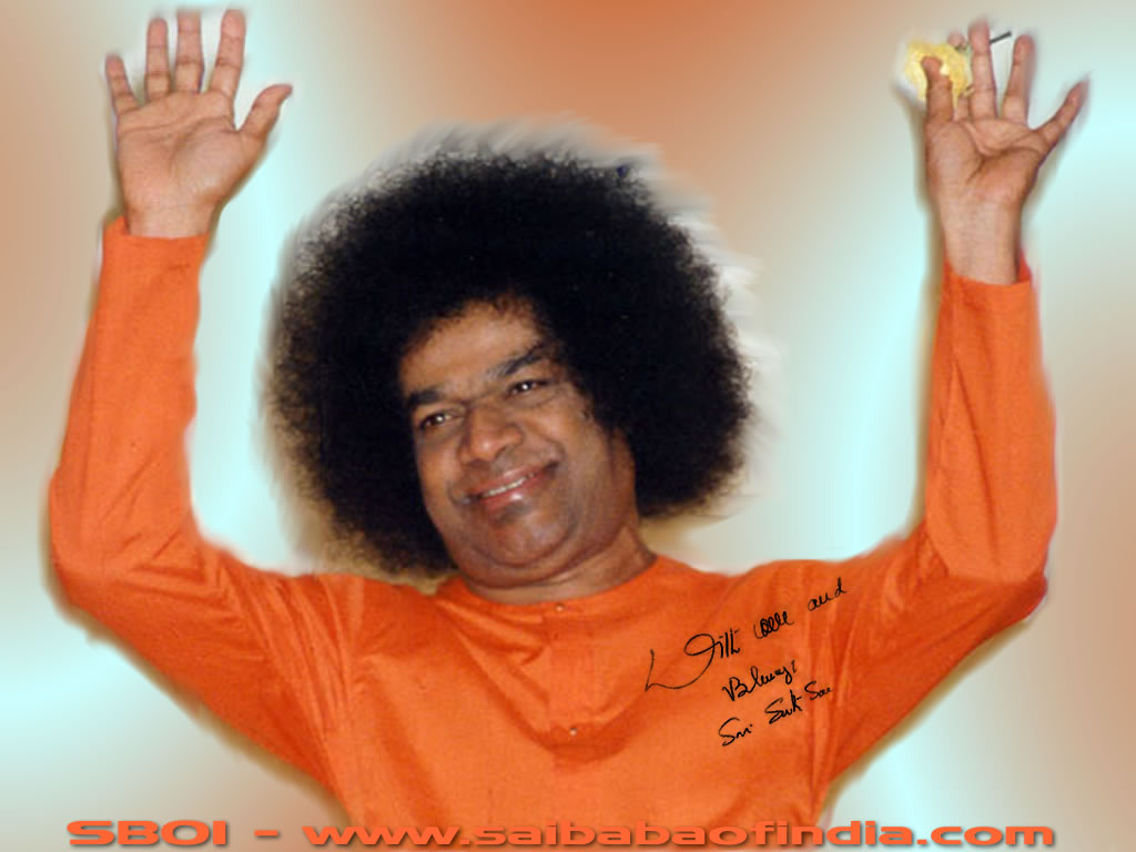 Sathya sai baba blessing sai baba of india wallpapers 100 s of sai