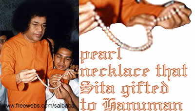 Mata Sita's Necklace