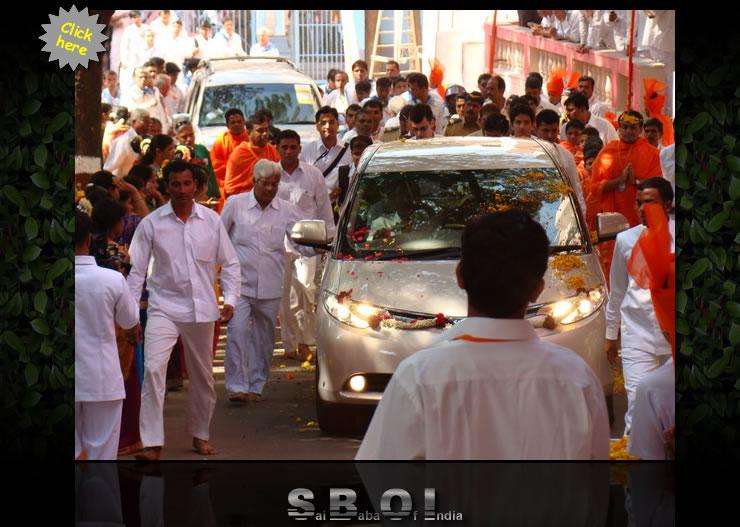 Mumbai welcome Bhagawan Sri Sathya Sai Baba  - Day 4