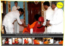 This sunday, Varsha, the Maharashtra chief minister's official residence, will have a rather unusual visitor. The house that's familiar with political bickering and has witnessed many a deal, will wear a saffron, spiritual look as Satya Sai Baba will visit Varsha to bless his disciple Ashok Chavan. It's the first time that the state will officially host a guru.