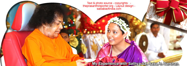 My Experience with Sathya Sai Baba in Darshan