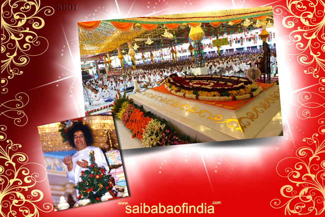 sai baba - Christmas-eve-2011-mahasamadhi