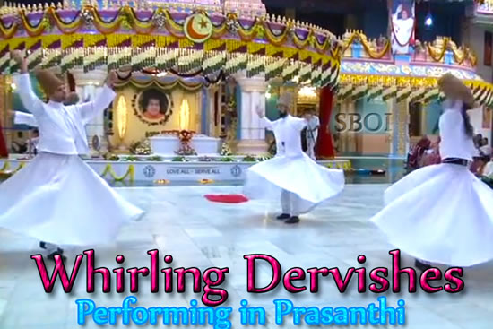 SEMA, Sufi whirling is a physically active meditation of the Sufis, popularly practised by the Sufi Dervishes of the Mevlevi order. The 'dance' of the Whirling Dervishes is called Sema and is born out of the inspiration of Mevlana Celaddiin-i Rumi, a 13th century Muslim Saint known throughout the world for his exquisite poems and words of wisdom. Sema represents a mystical journey of man's spiritual ascent.