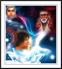Photo: The Triple Incarnation of Sai Avatar