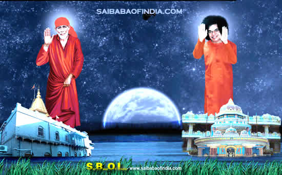Sathya Sai Baba Darshan - July 2009
