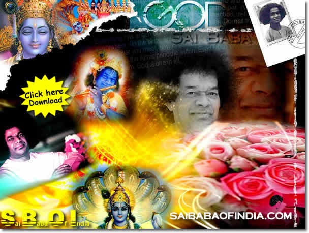 SAI BABA WALLPAPER DOWNLOAD - SAI BABA OUR GOD