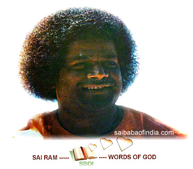 SAI RAM - WORDS OF GOD