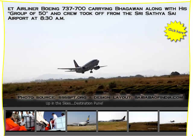 et Airways owned chartered Jet Airliner Boeing 737-700 carrying Bhagawan