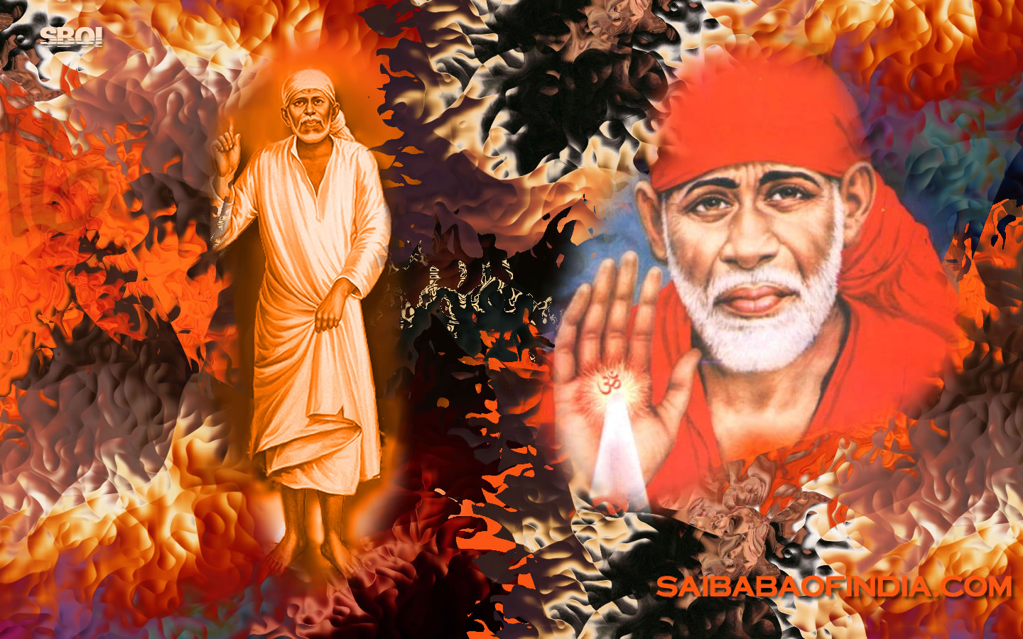 red wallpaper satya sai baba wallpapers shirdi saibaba