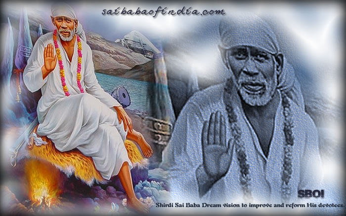 Shirdi Sai Baba Wallpapers - download - original and rare photo of Sai Baba