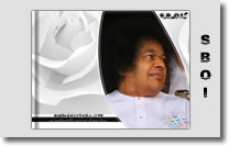 sai baba white robe wallpaper