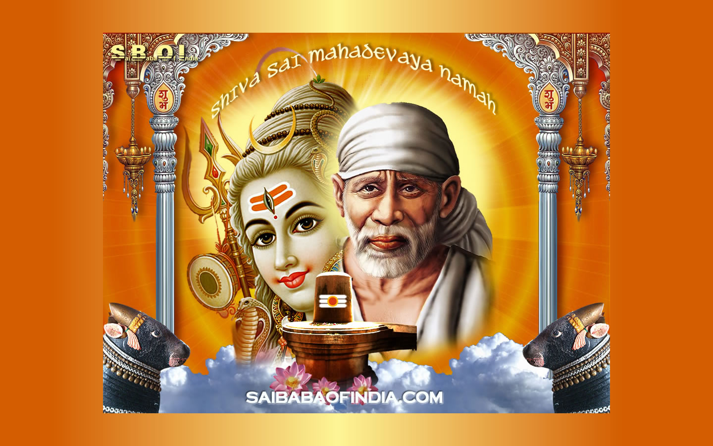 Popular Wallpaper Lord Sai Baba - Shirdi-Sai-Shiva-wallpaper-wide-screen  Collection_852097.jpg