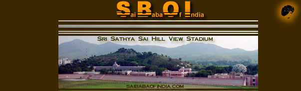 Hill view Stadium, Prashanti Nilyam, Sports Day