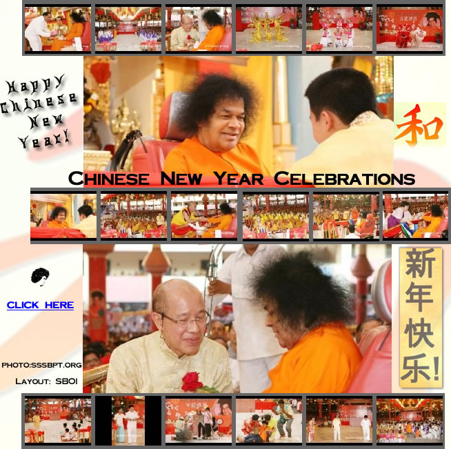 SAI BABA - PHOTOS 2009 Chinese New Year Celebrations
