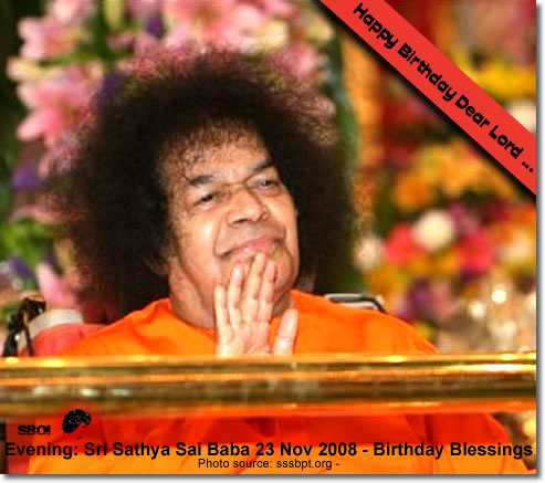 23rd Nov. Evening: sai_baba_83rd_birthday-update-photos-23rdnov2008