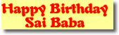 All the updates & Photos - Happy Birthday Sai Baba - 23 November