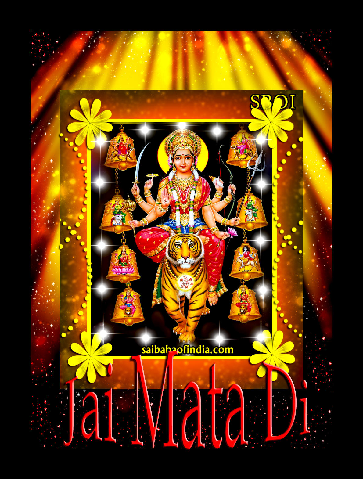 Devi Ma Jai Mata Di Navaratri Photos Wallpapers Animation