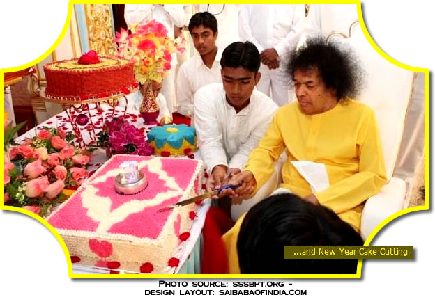 indian wedding cake cutting songs sainews sathya sai baba new year in prasanthi nilayam 16410